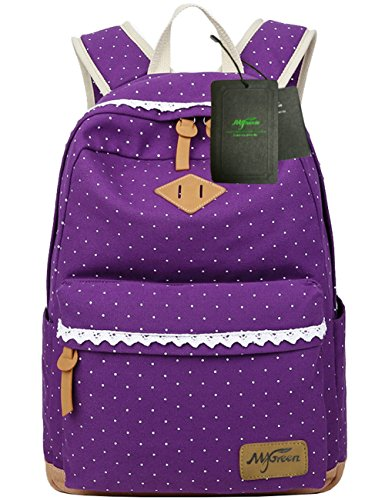 Cute Girl Book Bag - 5