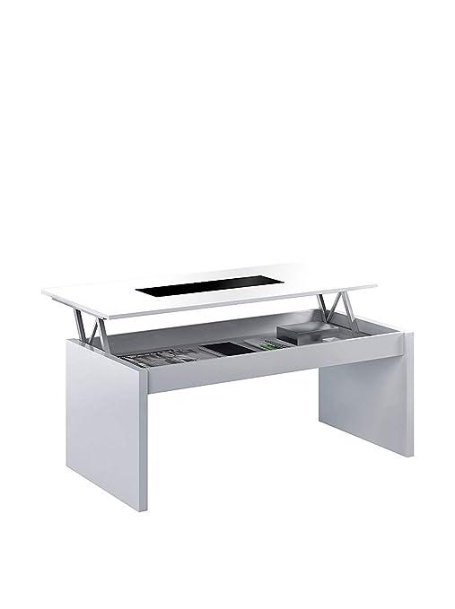 SERMAHOME- Mesa de Centro Elevable Comedor o Salón Modelo Style ...
