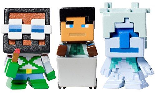 Mattel Minecraft Biome Settlers Series Tundra Mini Figure (3 Pack)
