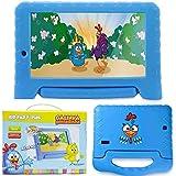 Tablet Infantil Galinha Pintadinha 7 Pol 1gb Ram Quad Core Android 7.0 8gb Wifi Crianca