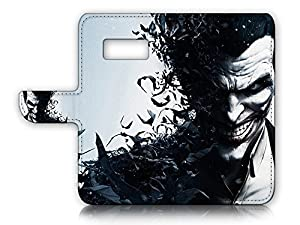 Samsung ( S8 Plus / S8+ ) Flip Wallet Case Cover & Screen Protector Bundle! A20367 Joker Batman at Gotham City Store