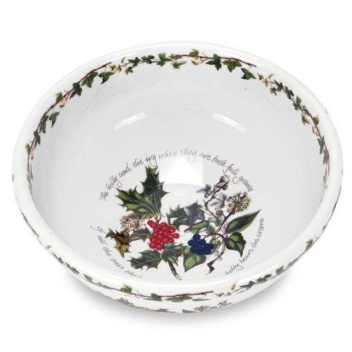 Portmeirion Holly and Ivy Salad/Mixing Bowl