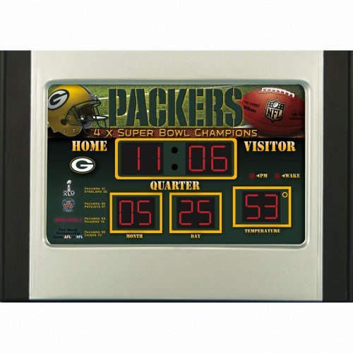 Green Bay Packers Alarm - 3