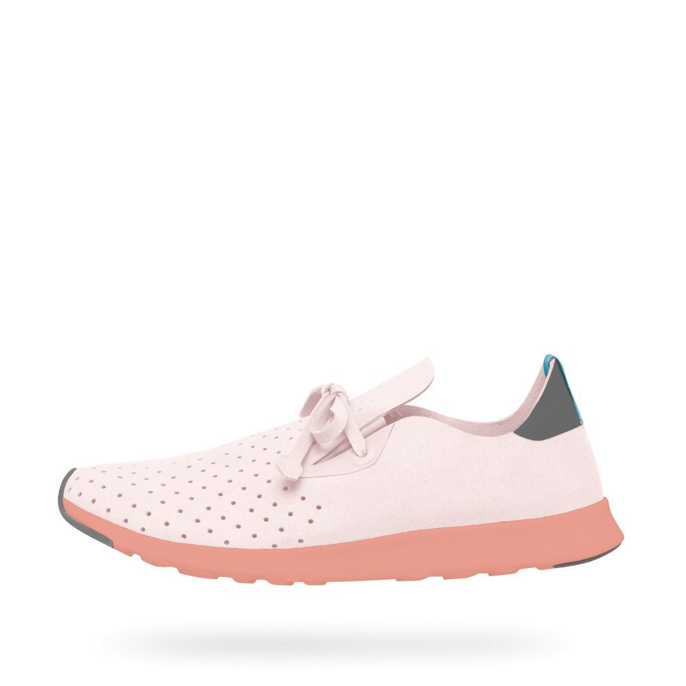 Native Unisex Apollo Moc Fashion Sneaker. B01HQP2Z1I 8.5 B(M) US Women / 6.5 D(M) US Men|Milk Pink/Dublin Grey/Clay Pink/Dublin Rubber