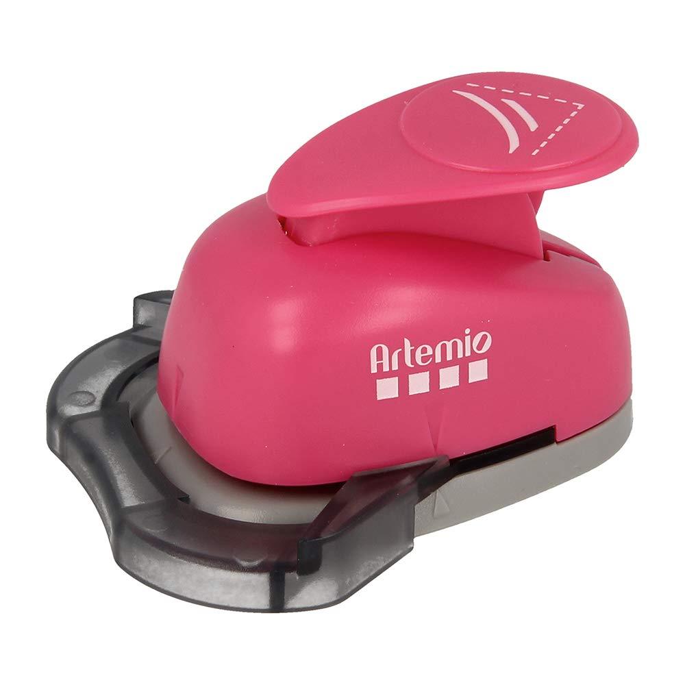 Pink Artemio 2.5 cm Croissant Corner Punch