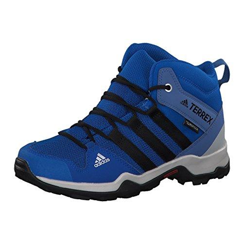 Adidas Terrex Ax2r Mid CP K, Botas de Senderismo Unisex Adulto Azul (Belazu / Negbás / Azretr 000)