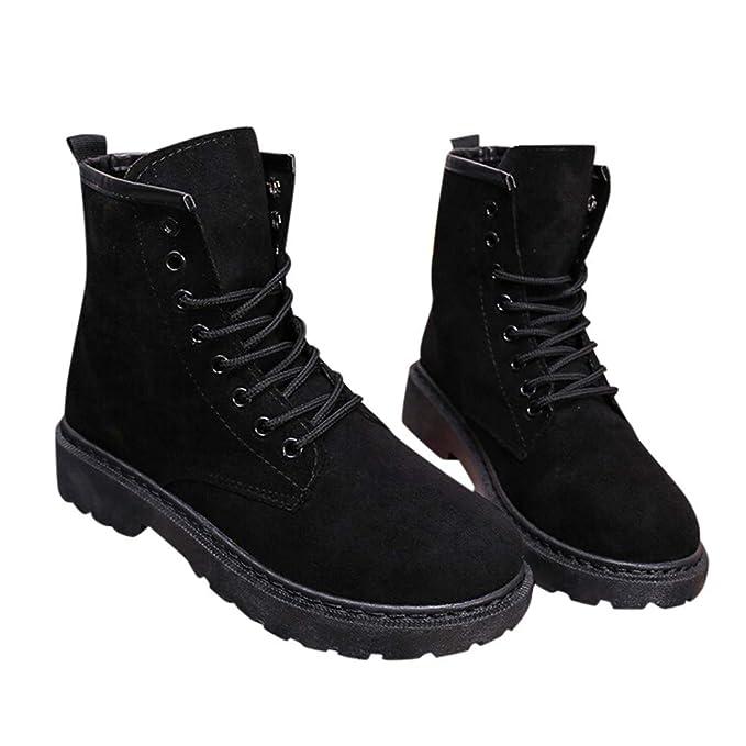 deca7df8f930a Amazon.com: Memela Clearance Sale!! Ankle Bootie Women's Lace Up Low ...