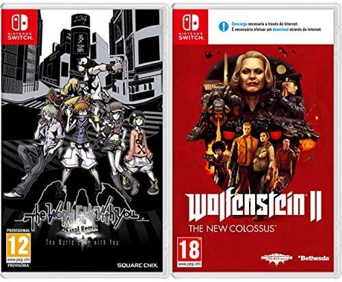 The world ends with you - Final Remix & Wolfenstein II: The New ...