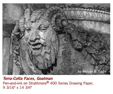 Strathmore Artist Papers 400 Series Drawing Paper Pad 18x 24
