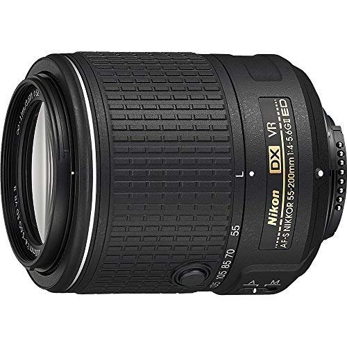 Nikon 55-200mm f/4-5.6G VR II DX AF-S ED Zoom-Nikkor Lens (Renewed) (Nikon D50 Digital Slr Camera)