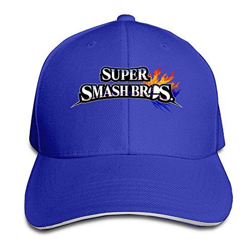 MARC Custom Super Smash Bros. For Wii U Unisex-Adult Baseball Cap Hats RoyalBlue