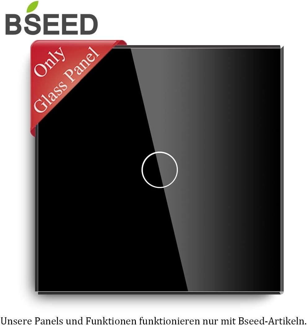 BSEED EU Standard WIFI WandEnchufe 16Amp Enchufe 86mm*86mm Negro