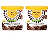 Simple Mills Organic Chocolate Frosting – 10 oz – Pack of 2 For Sale