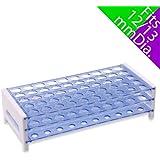 Karter Scientific 208V2 Plastic Test Tube Rack for 12/13mm Tubes, Holds 50, Detachable