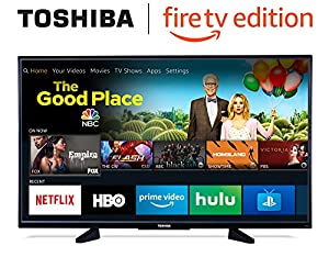 Toshiba 50-inch 4K Ultra HD Smart LED TV - Fire TV Edition