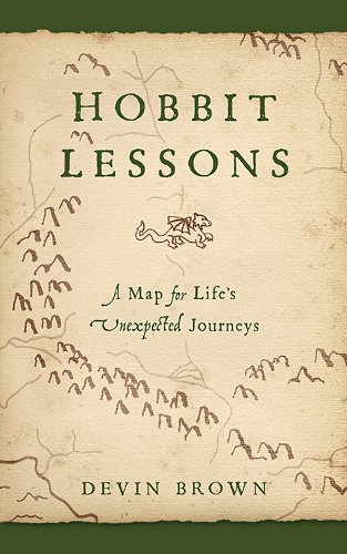 book cover of Hobbit Lessons