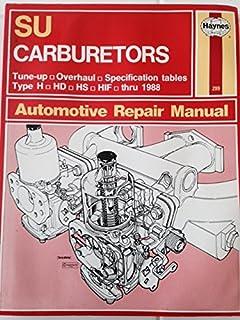 su carburettors owner s workshop manual don peers 9780856962998 rh amazon com haynes su carburetor manual pdf Su Carburetor Adjustment