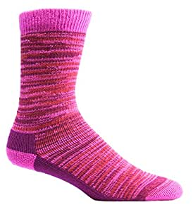 Farm to Feet Women's Bend Hiking Socks, Carmine, Small