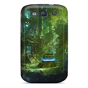 Defender Case With Nice Appearance (mystical Temple) For Galaxy S3