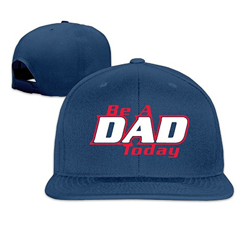 Monster Ball Tour Costumes (Suta Be A Dad Today Flat Bill Snapback Adjustable Tour Hat Navy)