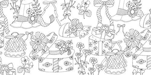 Present すてきなギフト柄がいっぱいの塗り絵ブック 布川 愛子 本