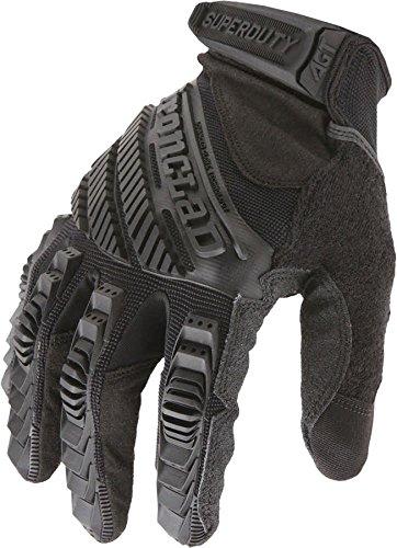 Ironclad SDG2B-04-L, Super Duty 2 - Blackout - Glove, Black, L