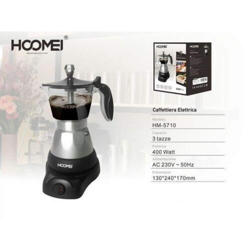 Acquisto TrAdE shop www.tradeshopitalia.con – CAFFETTIERA Moka ELETTRICA 400 Watt per 3 Tazze Macchina per Caffe MACINATO Prezzi offerta
