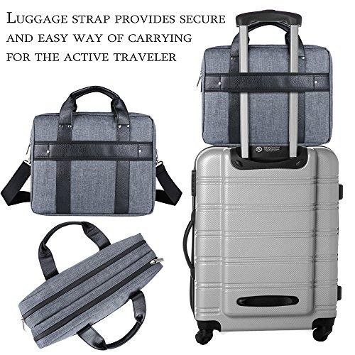 16 ~ 17.3 Laptop Twill Shoulder Bag Laptop, Tablets, 2in1 Ultrabooks, Notebook, & Netbook