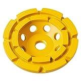 DEWALT DW4775 7-Inch Double Row Diamond Cup Grinding Wheel Blister