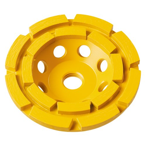 DEWALT DW4775 7-Inch Double Row Diamond Cup Grinding Wheel Blister ()