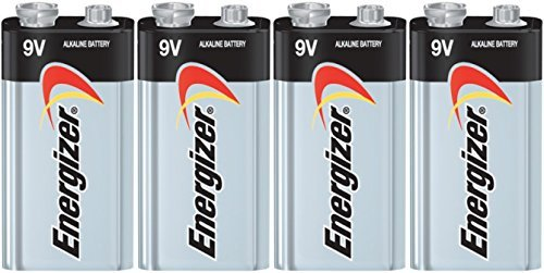 Energizer E522 Max 9V Alkaline battery Exp. 03/18 or later Made in USA - 4 Count