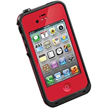 MOBPROOF The Fashional Color Waterproof Case for Iphone 4/4s Red