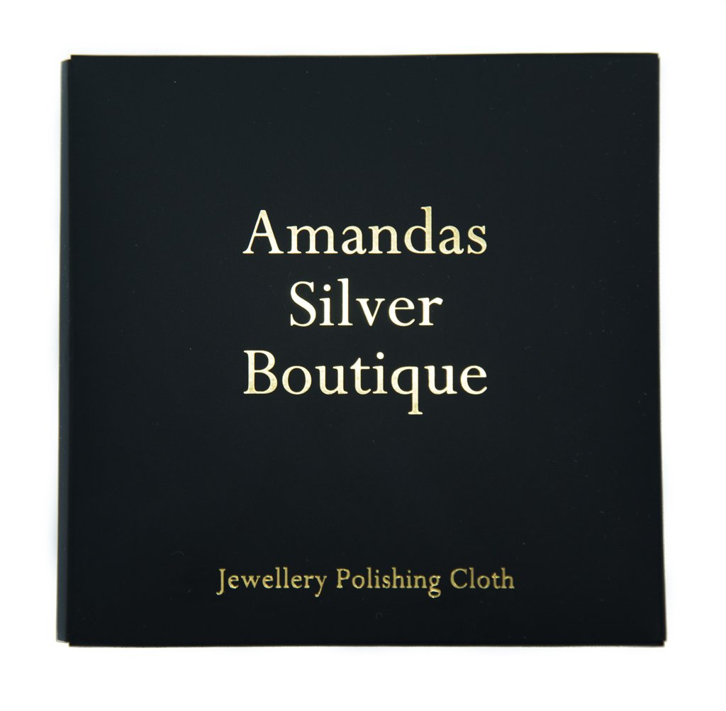 Cleaning and Polishing Cloth for Silver and Gold Jewellery Amandas Silver Boutique CLOTH-18