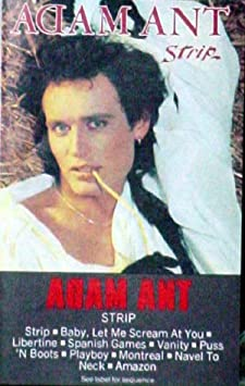 Adam ant strip on you