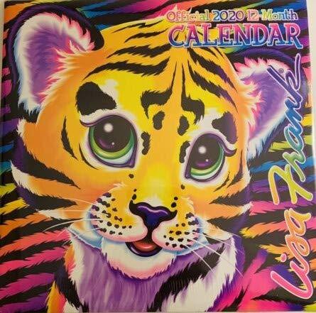 2009 Twelve Month Calendar - Lisa Frank Whimsical Pop Art 2020 Monthly Calendar - Twelve Months/Year 10
