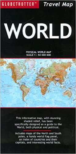 World travel map globetrotter travel map amazon new holland world travel map globetrotter travel map amazon new holland publishers ltd fremdsprachige bcher gumiabroncs Gallery