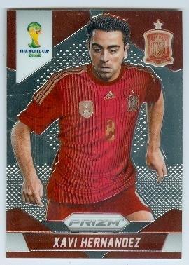 fan products of Xavi Hernandez trading card (Spain Qatari club Al Sadd SC Soccer) 2014 World Cup Prizm Chrome #180