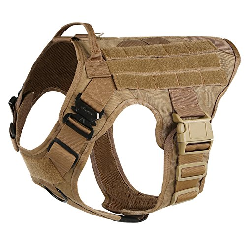 ICEFANG-Tactical-Dog-HarnessK9-Working-Dog-VestNo-Pulling-Front-Clip-Leash-Attachment
