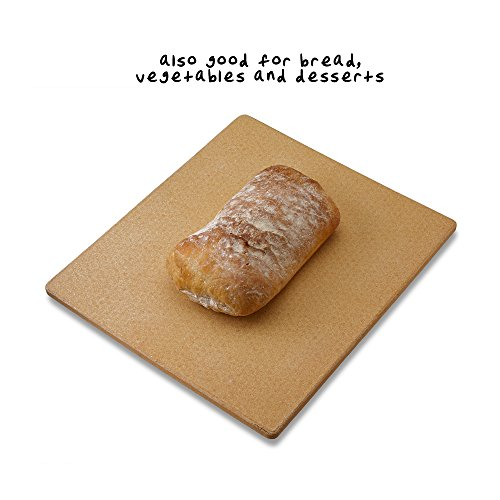 Old Stone Oven Rectangular Pizza Stone by Honey-Can-Do (Image #5)