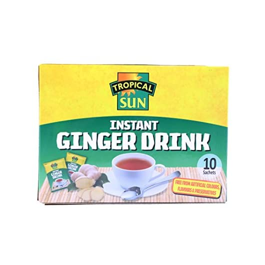 Tropical Sun Instant Ginger Drink (Pack of 6)
