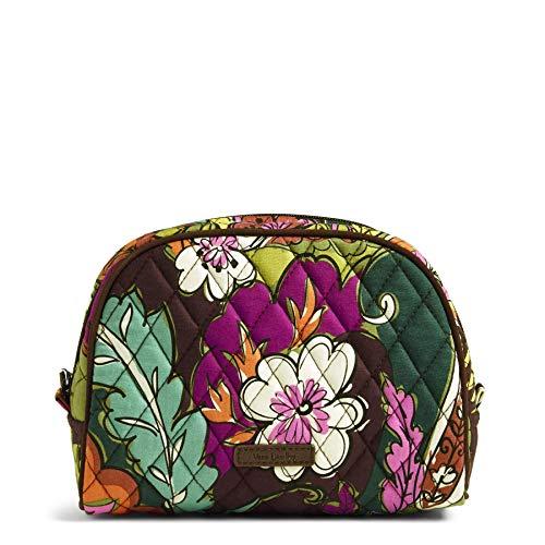 Vera Bradley Medium Zip Cosmetic, Autumn Leaves