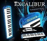 Excalibur Melodica - Transparent Series - Ocean Blue