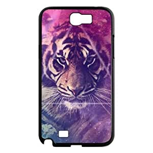 Generic Cute Galactic Tiger in Space Hipster Hard Snap-on Covers for Samsung Galaxy Note 2 N7100