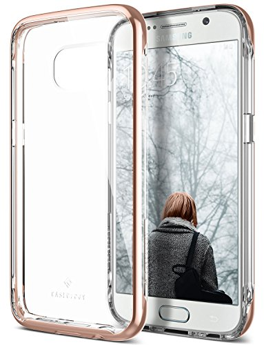 Galaxy S7 Case, Caseology [Skyfall Series] Transparent Clear Slim Protective Scratch Resistant Air Space Technology [Rose Gold] for Samsung Galaxy S7 (2016)
