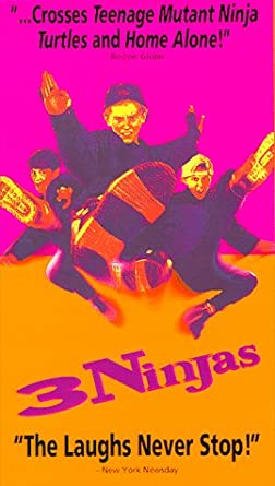 Amazon.com: Three Ninjas [VHS]: Victor Wong, Michael Treanor ...