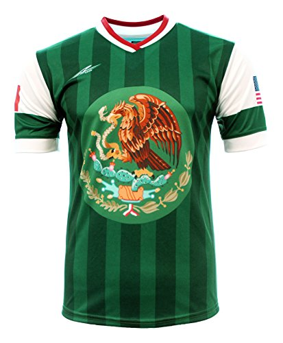 5d8fe65b0 Arza Sports Men s Mexico and USA Jersey (X-Large)