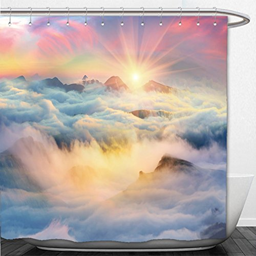 interestlee-shower-curtain-at-dawn-after-a-warm-rain-ridges-chornogory-haze-enveloped-with-rays-of-s