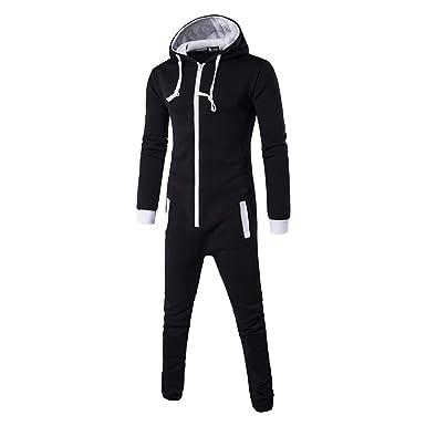 Thadensama Tmall Quality Pajamas Onesie for Man Zipper Pijama Masculino Erkek Pijamas Hombre Invierno Blue Pyjama