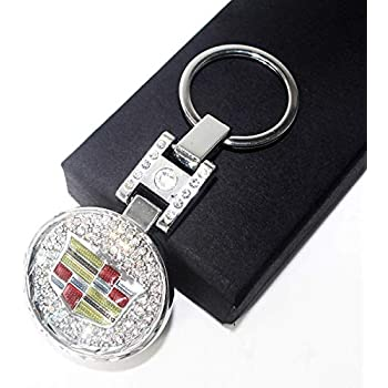 Amazon.com: Fitracker LED Car Keychain Crystal Light ...
