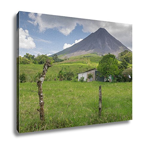 (Ashley Canvas Volcano Arenal In Costa Rica Wall Art Decoration Picture Painting Photo Photograph Poster Artworks, 20x25)